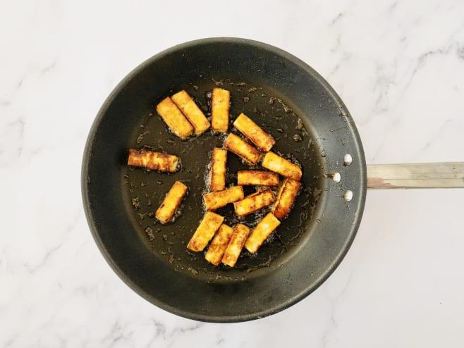Fry paneer