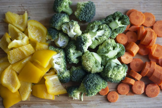 Prep vegetables