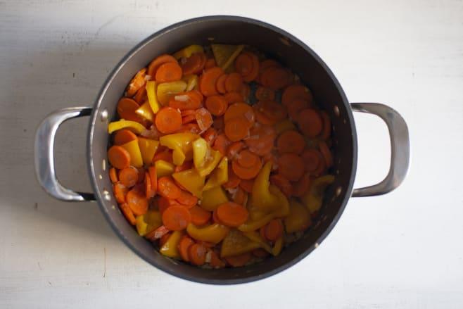 Fry soup base