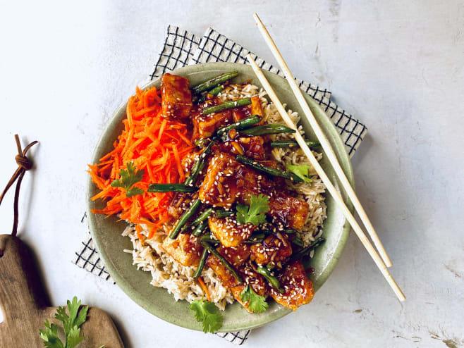 Tumble tofu