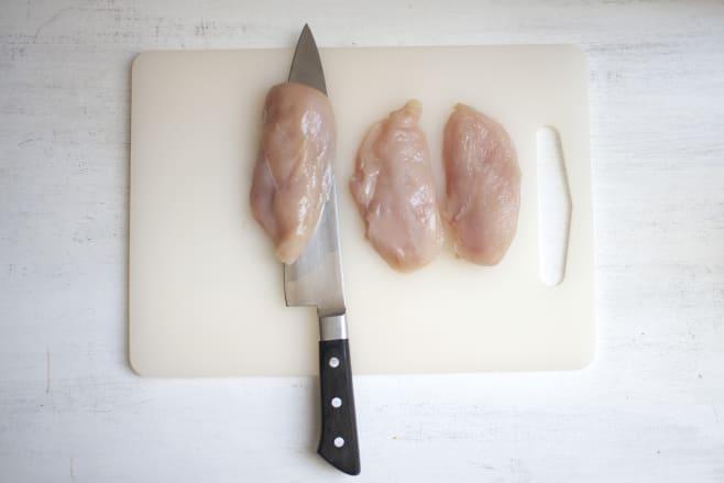 Chop chicken