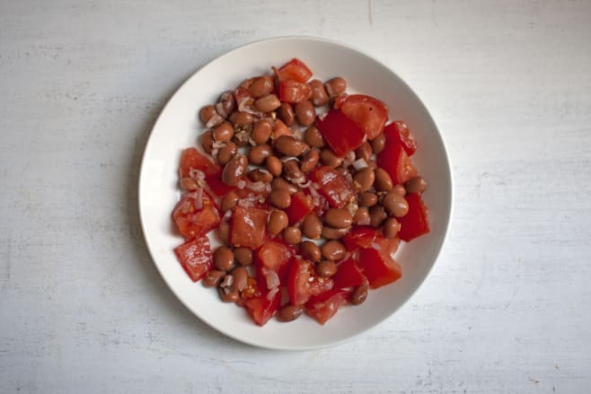 Combine salad