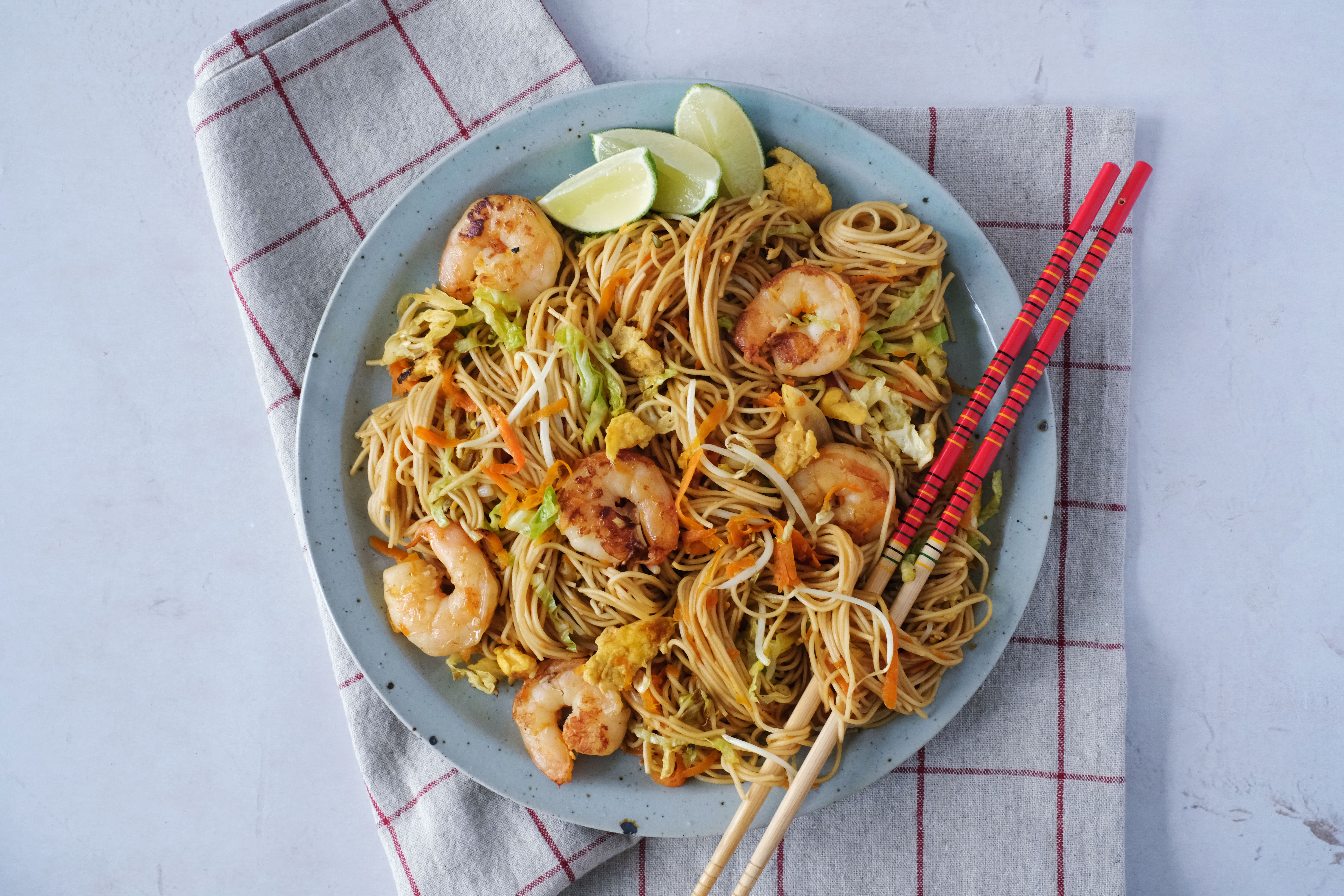Mie Goreng with Prawns