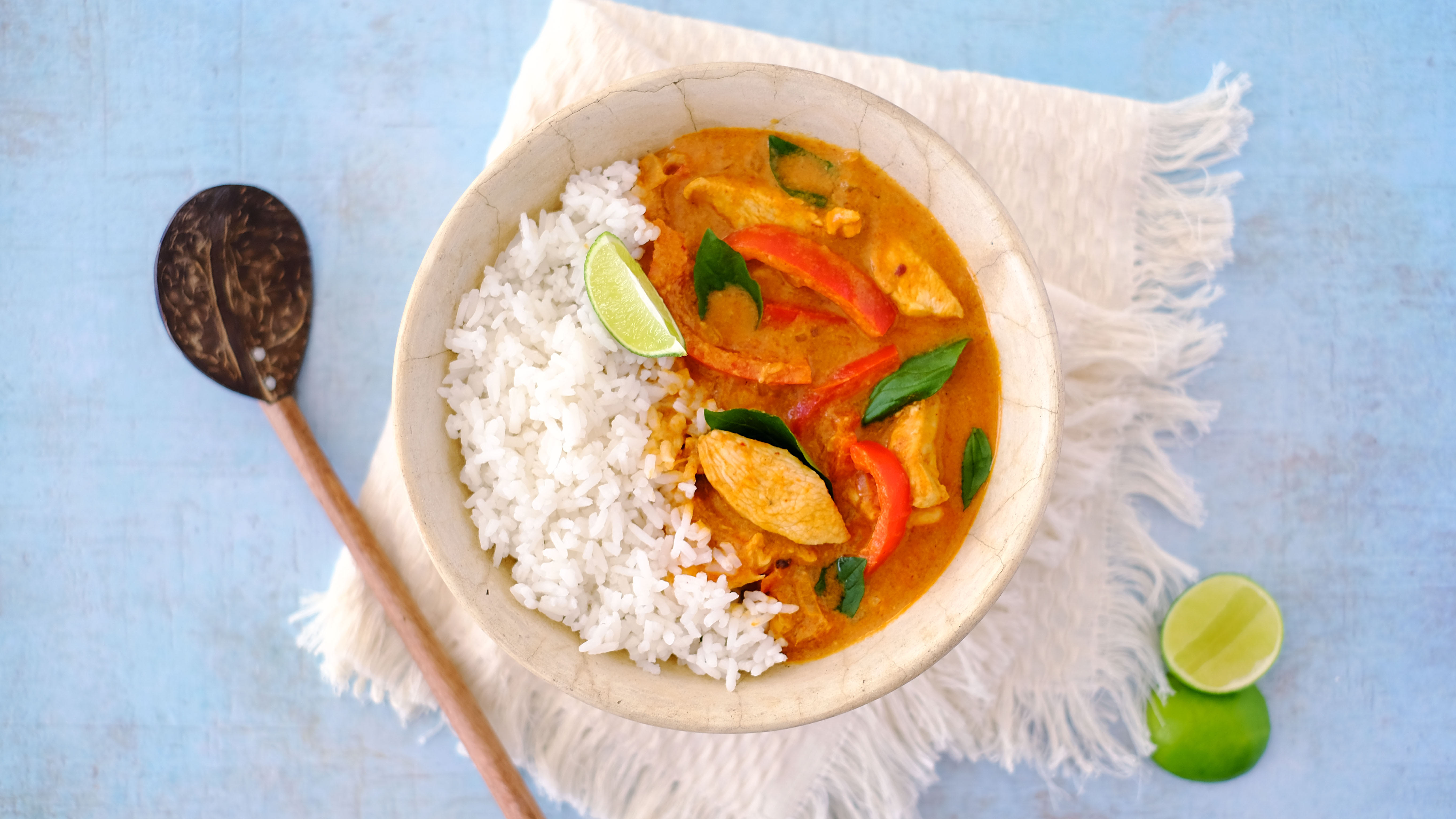 Thai Panang Chicken Curry with Jasmine Rice