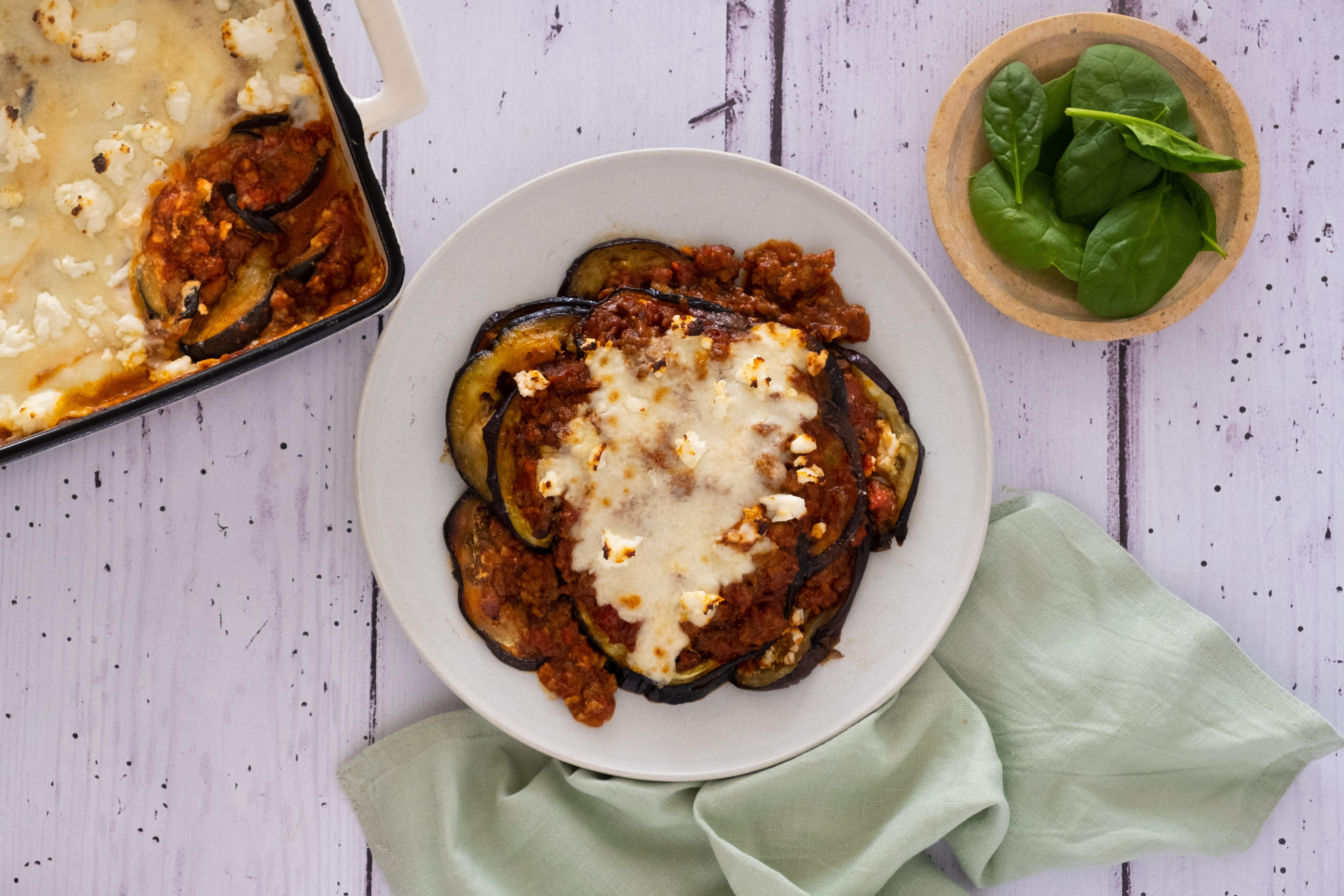 Greek Beef and Eggplant Pastitsio