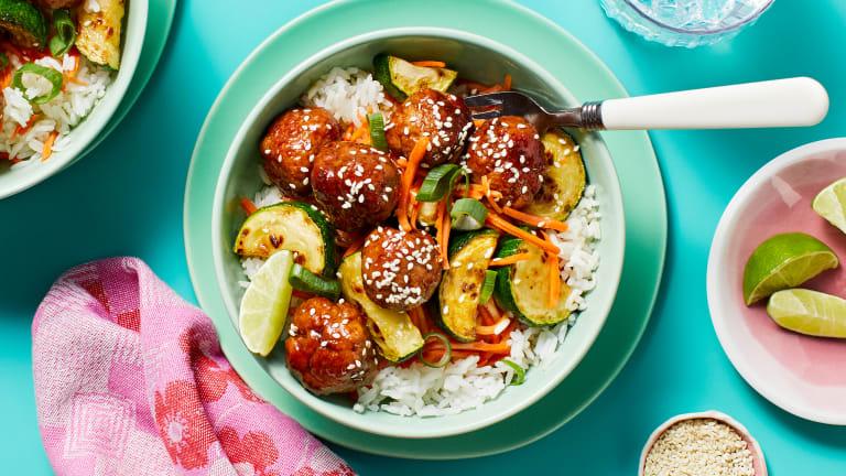 Pork Bulgogi Meatballs