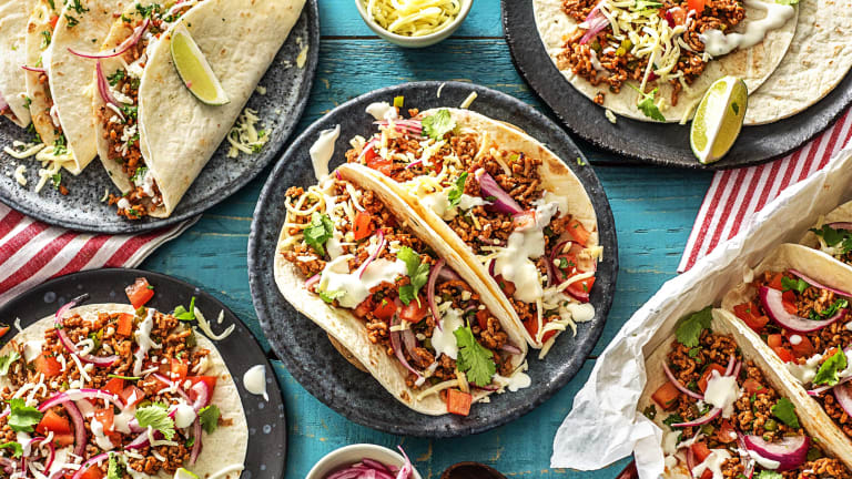 One-Pan Pork Carnitas Tacos