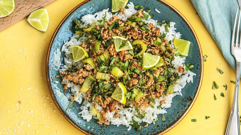 Pork and Thai Basil Stir-Fry