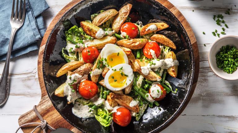 Feiner Kartoffelsalat nach Art Nicoise