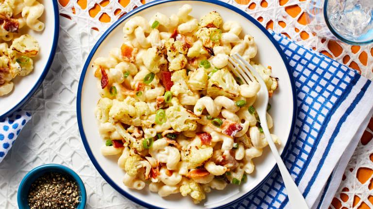 Cauliflower Bacon Mac 'N' Cheese