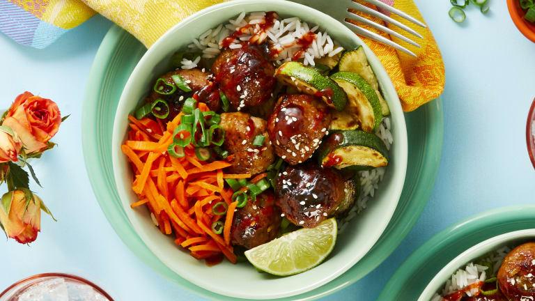 Pork Teriyaki Meatballs