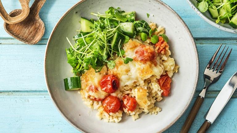 Cheesy Tomato Risotto