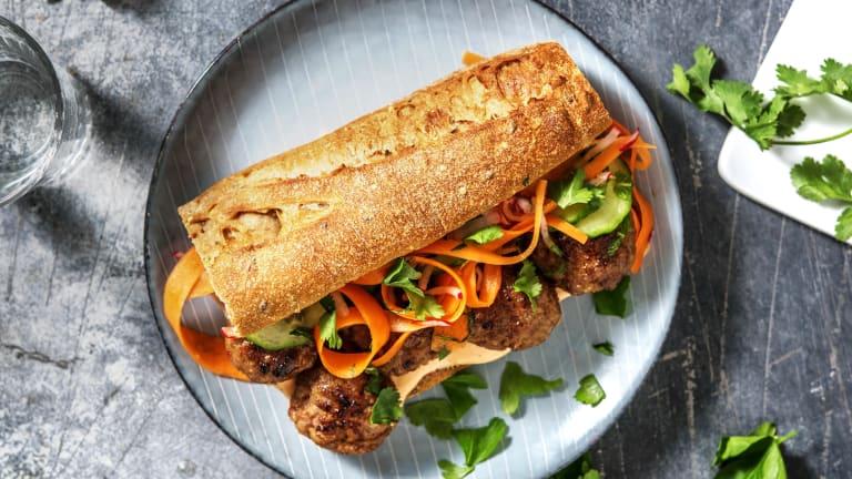 Bánh mì! Vietnamesisches Sandwich