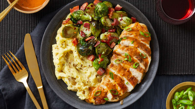 Butter-Basted Chicken Breasts