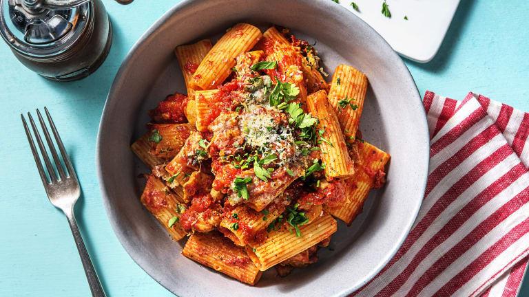 Cajun Chicken and Tomato Pasta