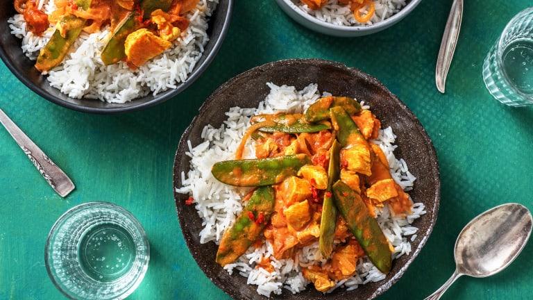 Creamy Chicken Curry
