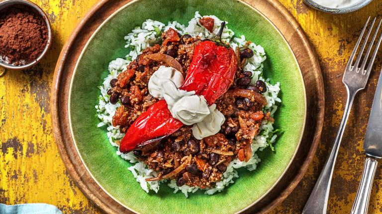 Hello Mole! Feuriges Chili con Carne