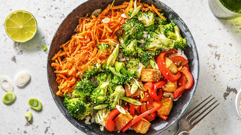 Korean Style Rice Bowl