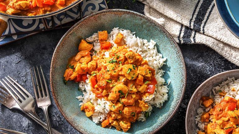 Mild & Creamy Fish Curry