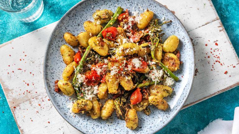 Pesto & Sun-Dried Tomato Gnocchi