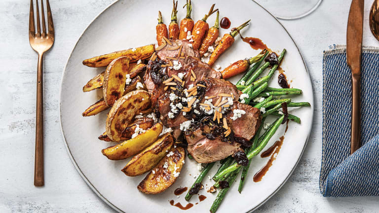 Rosemary & Caramelised Onion Lamb Rump