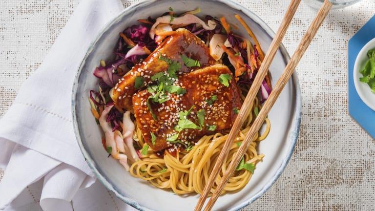 Spicy BBQ Tofu