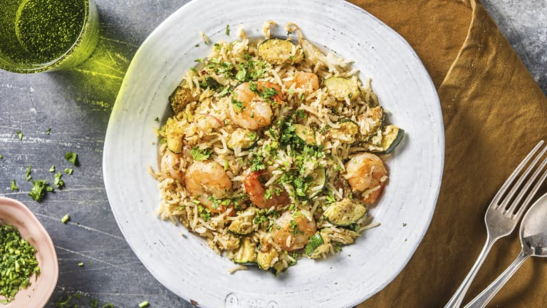 Super Speedy Prawn Pilaf