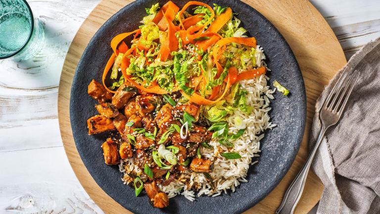 Teriyaki Pork Rice Bowl
