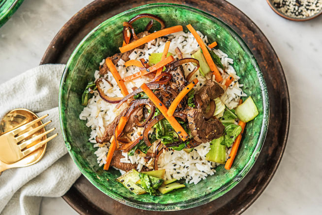 Global Flavours - Teriyaki Beef