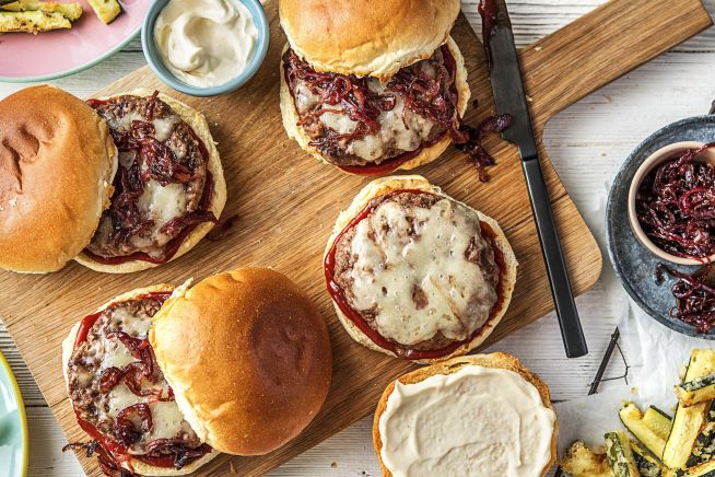 Family Friendly - Melty Monterey Jack Burgers