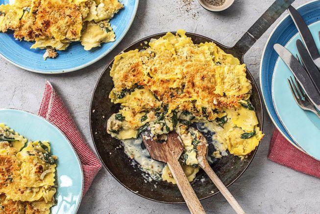 Quick meals - Easy-Peasy Ravioli Gratin