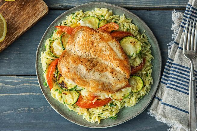 Quick meals - Winner Winner Chicken Orzo Dinner