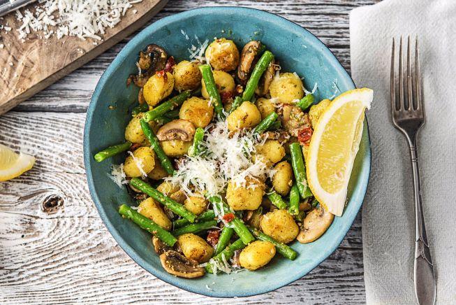 Quick meals - Toasty Pesto Gnocchi