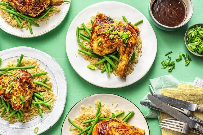 Family Friendly - Adobo-Glazed Chicken