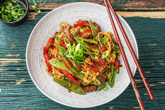 Quick Meals - Beef Chow Mein