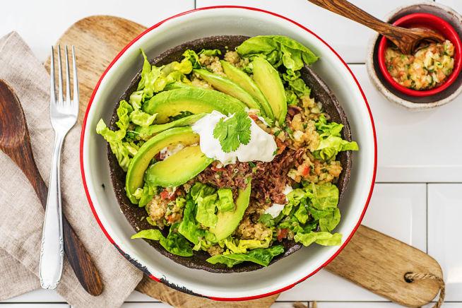 Thermomix Rezepte - Burrito Bowl! Tomaten-Quinoa