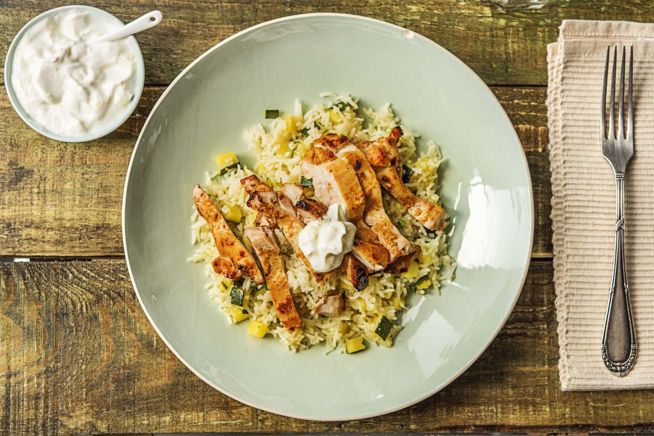 Chermoula and Yoghurt Marinated Chicken