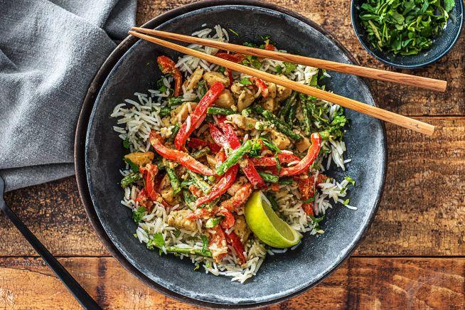 Quick Meals - Chicken Green Thai Curry