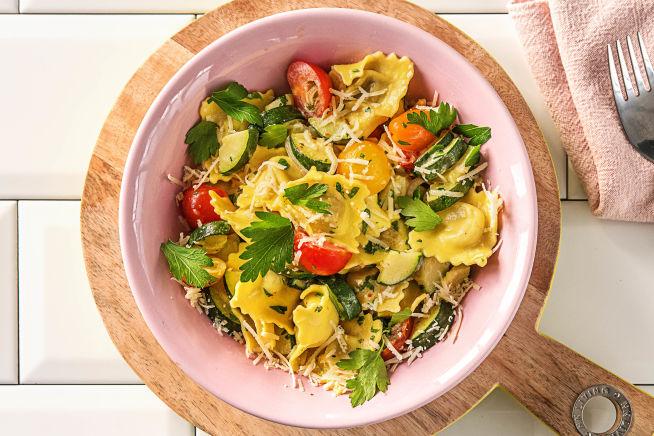 Quick meals - Creamiest Mushroom Ravioli