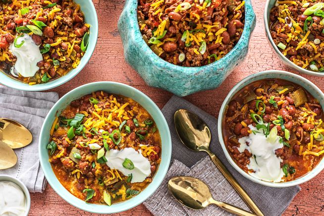 Family Friendly - Game-Day Beef Chili