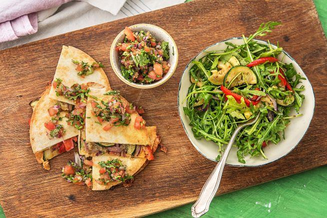 Quick meals - Garden Quesadillas