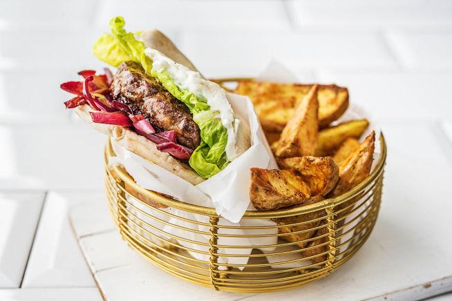 Schnelle Gerichte - Marokkanische Rindfleisch-Burger