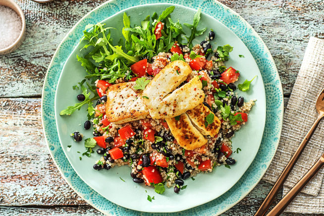 Quick Meals - Mexican Spiced Halloumi