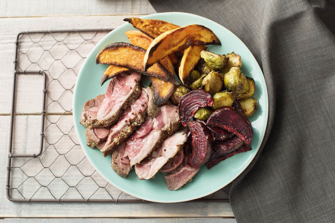 Low Carb Recipes - Mustard Lamb