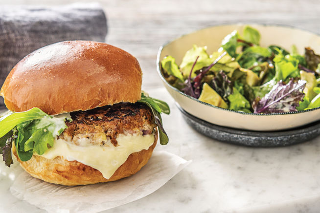 Quick Meals - Speedy Juicy Pork and Apple Burgers