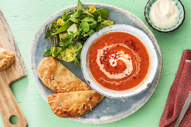 Quick meals - Red Hot Tomato Soup