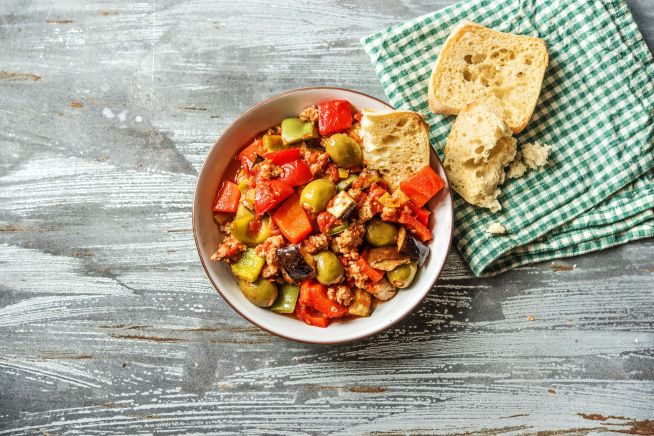 Low Calorie Meals - Sicilian-Style Caponata