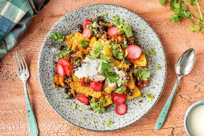 Vegetarian Recipes - Skillet Chilaquiles