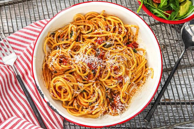 Quick Meals - Spaghetti Puttanesca