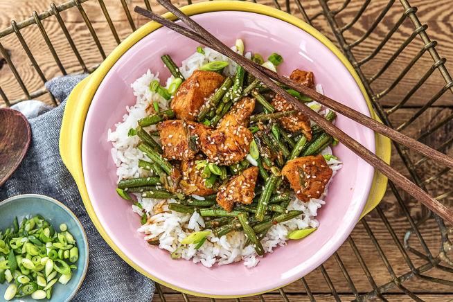 Quick Meals - Sticky Sesame Chicken